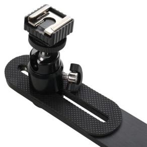 Falcon Eyes Camera Bracket PBC-200HHC + Mini Ball Head + Hotshoe