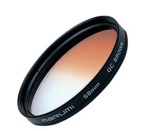 Marumi Farbverlauf Filter Braun 49 mm