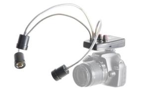 Falcon Eyes Macro LED Lamp DV-3B on Penlite