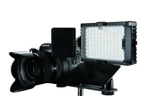 Falcon Eyes LED Lamp Set Dimmable DV-96V-K1 on Penlite
