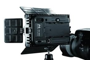 Falcon Eyes LED Lampe Set Dimmbar DV-96V-K2 inkl. Akku
