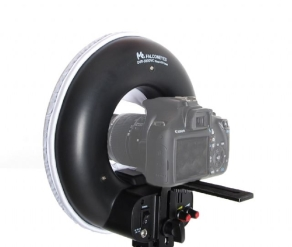 Falcon Eyes Bi-Color LED Ringlampe Dimmbar DVR-300DVC auf 230V