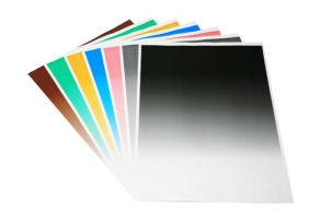 Falcon Eyes Hintergrund Papier 80x100 cm mit Farbverlauf 7 St.