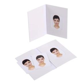 Benel Passport Photo Wallets White 500 Pcs.