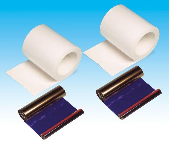 DNP Papier DM6840 2 Rollen je 180 St. 15x20 für DS40