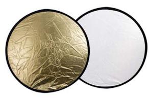 Falcon Eyes Reflector CFR-42G Gold/White 107 cm