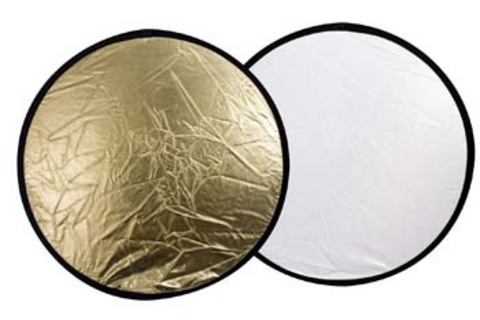 Linkstar Reflektor 2 in 1 R-80GS Gold/Silber 80 cm