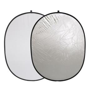 Linkstar Reflektor 2 in 1 R-90120SW Silber/Weiß 90x120 cm