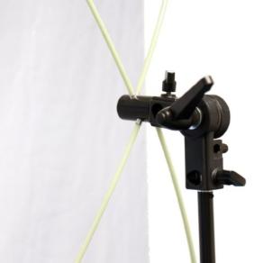 Falcon Eyes Reflector RR-3570S Silver/White 89x178 cm