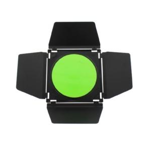 Linkstar Abschirmklappen Set LFA-BD + 4 Farbfilter + Waben