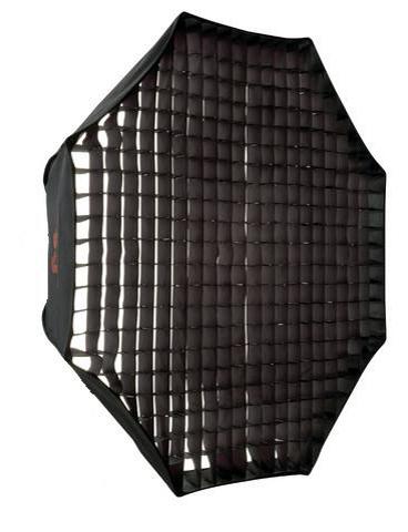 Falcon Eyes Octabox Ø120 cm + Honeycomb Grid FER-OB12HC