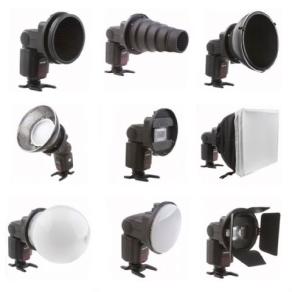 Falcon Eyes Universal Speedlite Flash Gun Strobist Set...