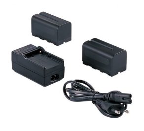 Falcon Eyes 2 x Battery NP-F750 + Battery Charger SP-CHG...