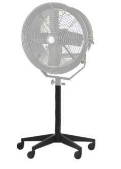StudioKing Stand on Wheels + Extension Pole for Wind Machine