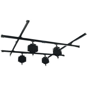 Linkstar Ceiling Rail System 3x3 m with 4 Pantographs