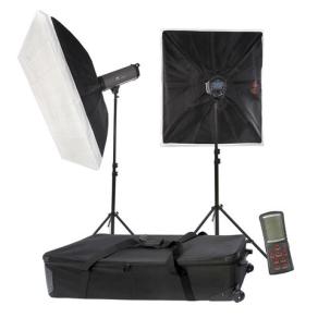 Falcon Eyes Studioblitz Set TFK-2600L mit LCD-Schirm