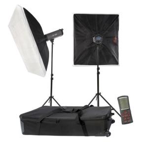 Falcon Eyes Studioblitz Set TFK-2900L mit LCD-Schirm