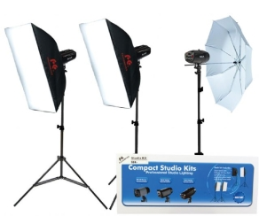 Falcon Eyes Studioblitz Set SSK-3200D mit Tasche und...
