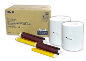DNP Paper DM68620 2 Rolls à 200 prints. 15x20 for...