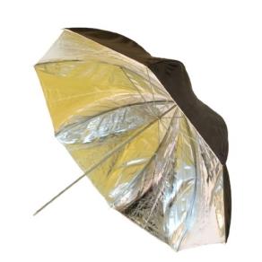 Falcon Eyes Umbrella UR-48SB1 Silver/Black 122 cm