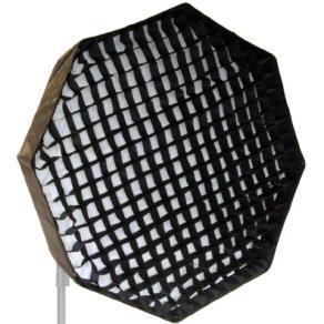 Falcon Eyes Foldable Deep Octabox + Honeycomb Grid...