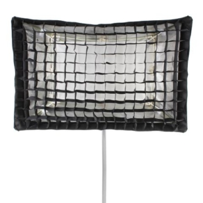 Falcon Eyes Foldable Softbox + Honeycomb Grid FESB-6090HC...