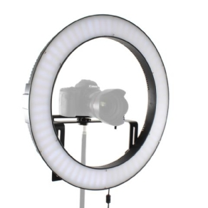 Falcon Eyes Bi-Color LED Ring Lamp Dimmable DVR-512DVC on...