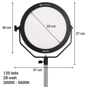 Falcon Eyes Bi-Color LED Lampe Sophiez SO-28TD auf 230V