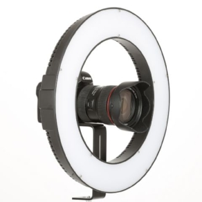 Falcon Eyes Bi-Color LED Ring Lamp Dimmable DVR-384DVC on...