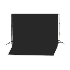Falcon Eyes Background System B-8510 with Roll Black 2,75...