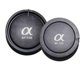 Pixel Lens Rear Cap BF-14L + Body Cap BF-14B for Sony