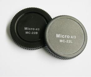 Pixel Lens Rear Cap MC-22B + Body Cap MC-22L for Micro...