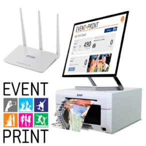 Event Print - BOX mit Router und Dongle Key