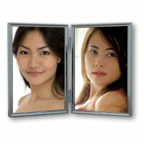 Zep Photo Frame 120DS04-4R Silver 2x 10x15 cm