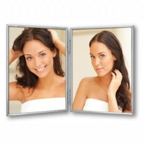 Zep Photo Frame 120DS01-4R Silver 2x 10x15 cm