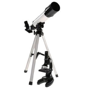 Byomic Beginners Microscope & Telescope in Case