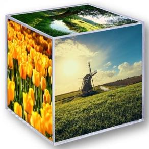 Zep Foto Würfel 8151 8,5x8,5 cm