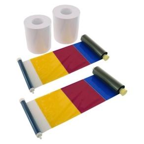 DNP Sticker Paper 2 Rolls à 200 prints 15x20 for...