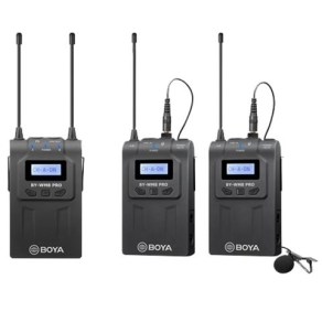 Boya UHF Dual Lavalier-Mikrofon Drahtlos BY-WM8 Pro-K2