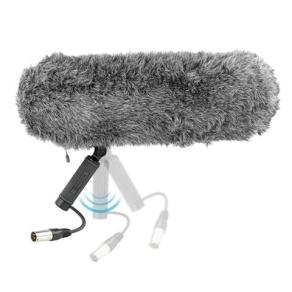 Boya Windschutz mit Anti Shock Mikrofonhalterung BY-WS1000