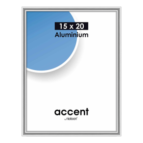 Nielsen Photo Frame 51323 Accent Glossy Silver 15x20 cm