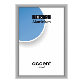Nielsen Photo Frame 51224 Accent Frosted Silver 10x15 cm