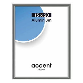 Nielsen Photo Frame 51325 Accent Steelgrey 15x20 cm