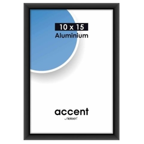 Nielsen Photo Frame 51226 Accent Frosted Black 10x15 cm