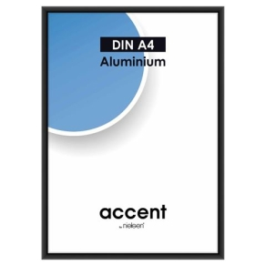 Nielsen Photo Frame 52126 Accent Frosted Black 21x29.7 cm