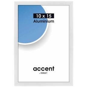 Nielsen Photo Frame 51239 Accent Glossy White 10x15 cm