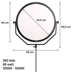 Falcon Eyes Bi-Color LED Lamp Sophiez SO-68TDX II with...