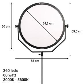 Falcon Eyes Bi-Color LED Lamp Sophiez SO-68TDX II Set 1