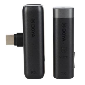 Boya 2.4 GHz Tie pin Microphone Wireless BY-WM3U for USB-C