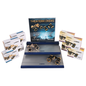 Theatre Binoculars Kit - Display with Top Card Including...